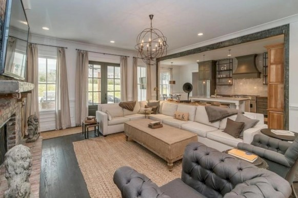 Inspiring living room layouts ideas with sectional 08
