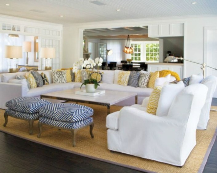 Inspiring living room layouts ideas with sectional 11