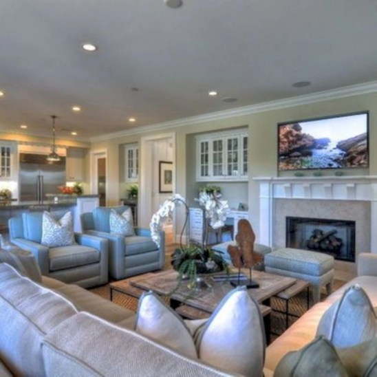 Inspiring living room layouts ideas with sectional 119