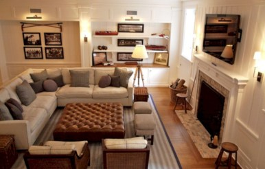 Inspiring living room layouts ideas with sectional 15