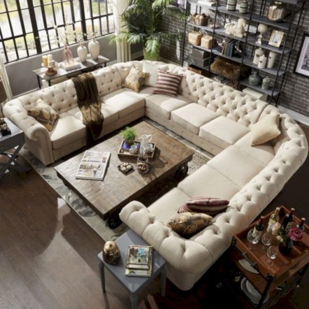 Inspiring living room layouts ideas with sectional 28