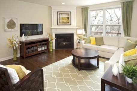 Inspiring living room layouts ideas with sectional 69