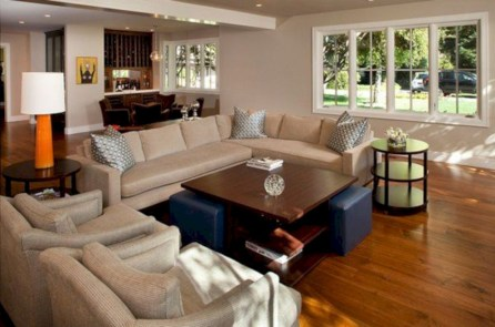 Inspiring living room layouts ideas with sectional 72