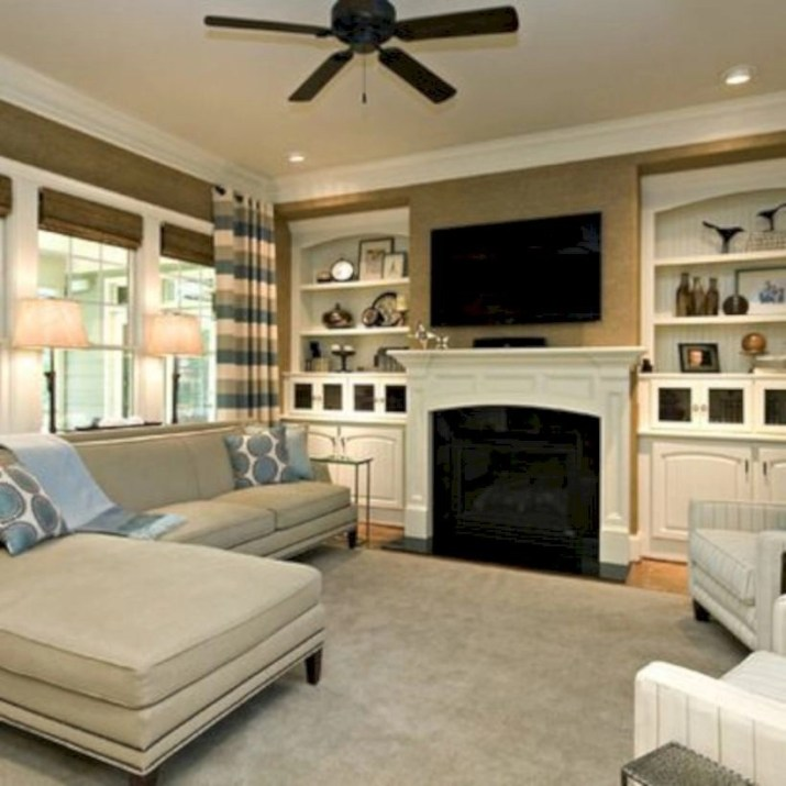 Inspiring living room layouts ideas with sectional 81