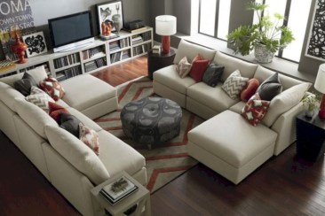 Inspiring living room layouts ideas with sectional 87