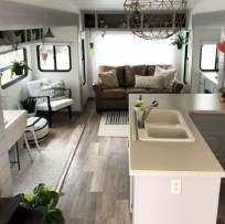Rv living decor to make road trip so awesome 24
