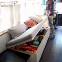 Rv living decor to make road trip so awesome 26