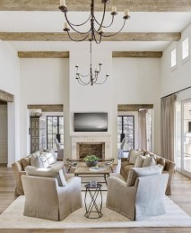 Rustic farmhouse living room decor ideas 05