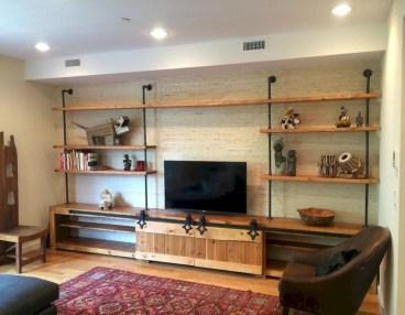 Rustic farmhouse living room decor ideas 25