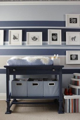 Unique baby boy nursery room with animal design 15