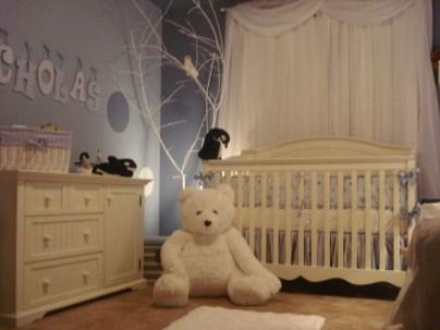 Unique baby boy nursery room with animal design 17