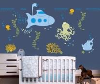 Unique baby boy nursery room with animal design 20