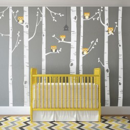 Unique baby boy nursery room with animal design 29