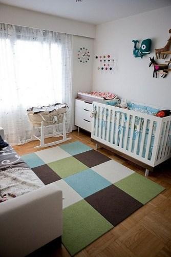 Unique baby boy nursery room with animal design 40