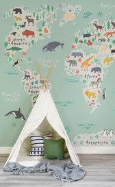 Unique baby boy nursery room with animal design 53