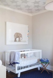 Unique baby boy nursery room with animal design 54
