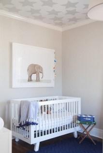 Unique baby boy nursery room with animal design 54