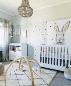 Unique baby boy nursery room with animal design 60