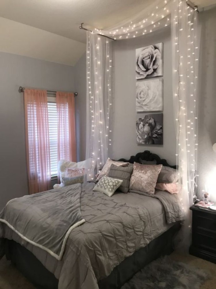 Easy and awesome wall light ideas for teens 01