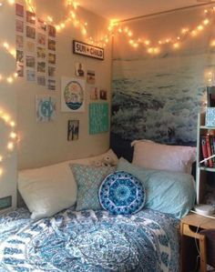 Easy and awesome wall light ideas for teens 15