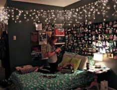 Easy and awesome wall light ideas for teens 34
