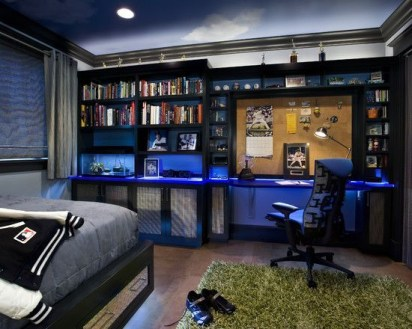 Easy and awesome wall light ideas for teens 42