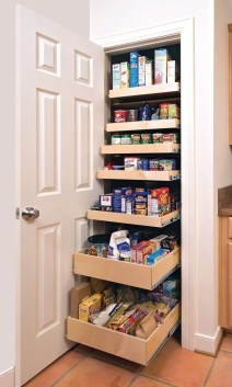 Kitchen pantry ideas with form and function 11