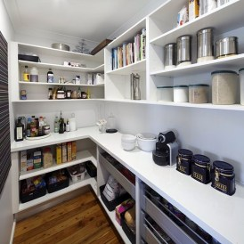 Kitchen pantry ideas with form and function 20