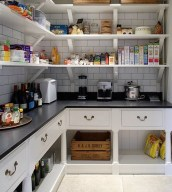 Kitchen pantry ideas with form and function 21