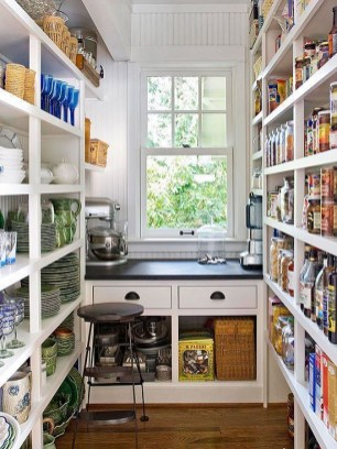 Kitchen pantry ideas with form and function 35