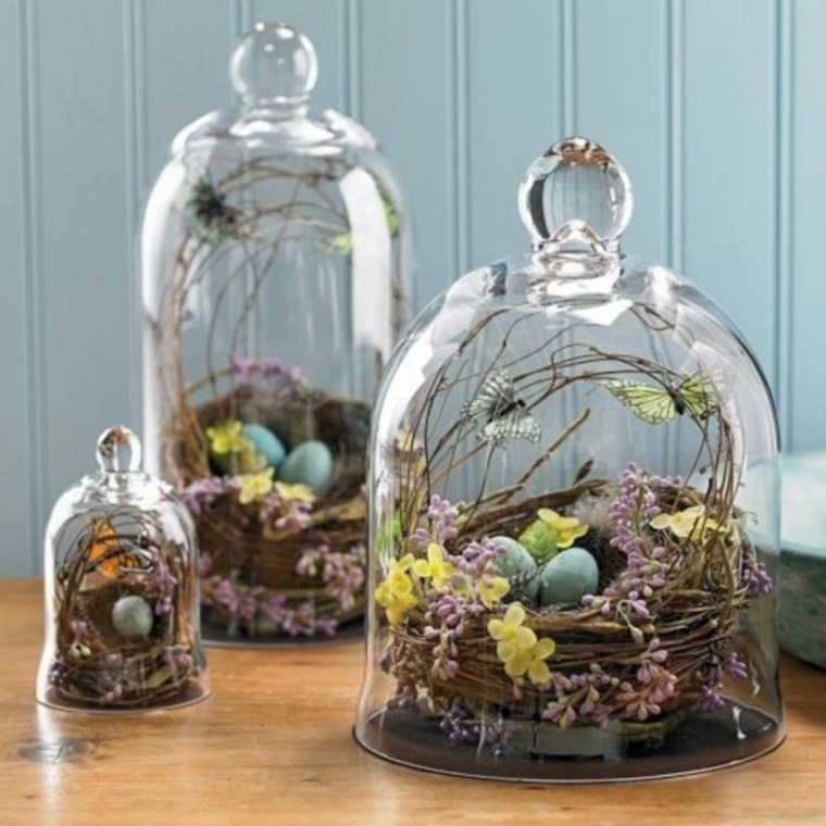 Simple ideas for adorable terrariums 39