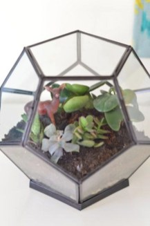 Simple ideas for adorable terrariums 54