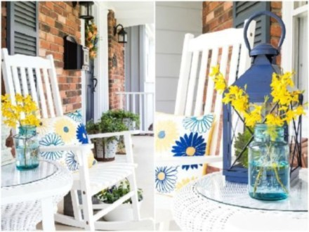 Spring decor ideas for your front porch 21