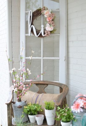 Spring decor ideas for your front porch 43