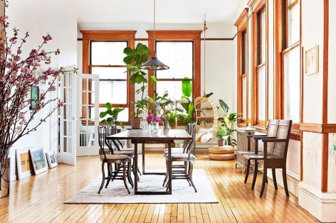 Stunning ways to re-decorate your dining room 01