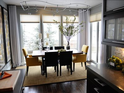 Stunning ways to re-decorate your dining room 02