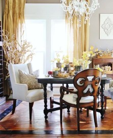 Stunning ways to re-decorate your dining room 21