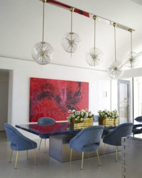 Stunning ways to re-decorate your dining room 29
