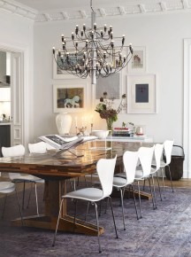 Stunning ways to re-decorate your dining room 38