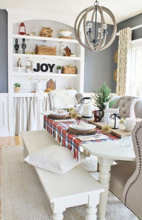 Stunning ways to re-decorate your dining room 50