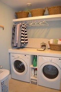 Beautiful and functional laundry room design ideas to try 06
