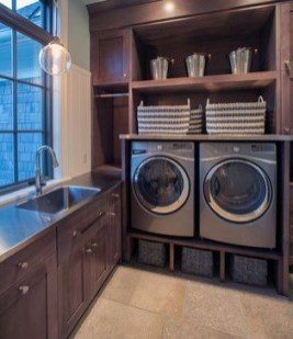 Beautiful and functional laundry room design ideas to try 20