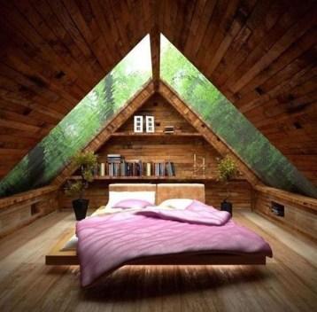 Cizy loft bedroom design ideas for small space 39