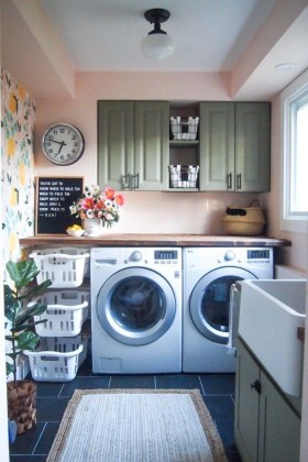 Laundry room design ideas that will maximize your small space 26