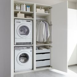 Laundry room design ideas that will maximize your small space 34