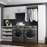 Laundry room design ideas that will maximize your small space 46