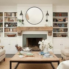 Beautiful fireplace decorating ideas to copy for your own 13