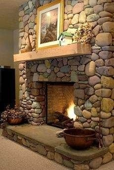 Beautiful fireplace decorating ideas to copy for your own 16