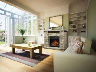 Beautiful fireplace decorating ideas to copy for your own 17