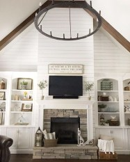 Beautiful fireplace decorating ideas to copy for your own 20